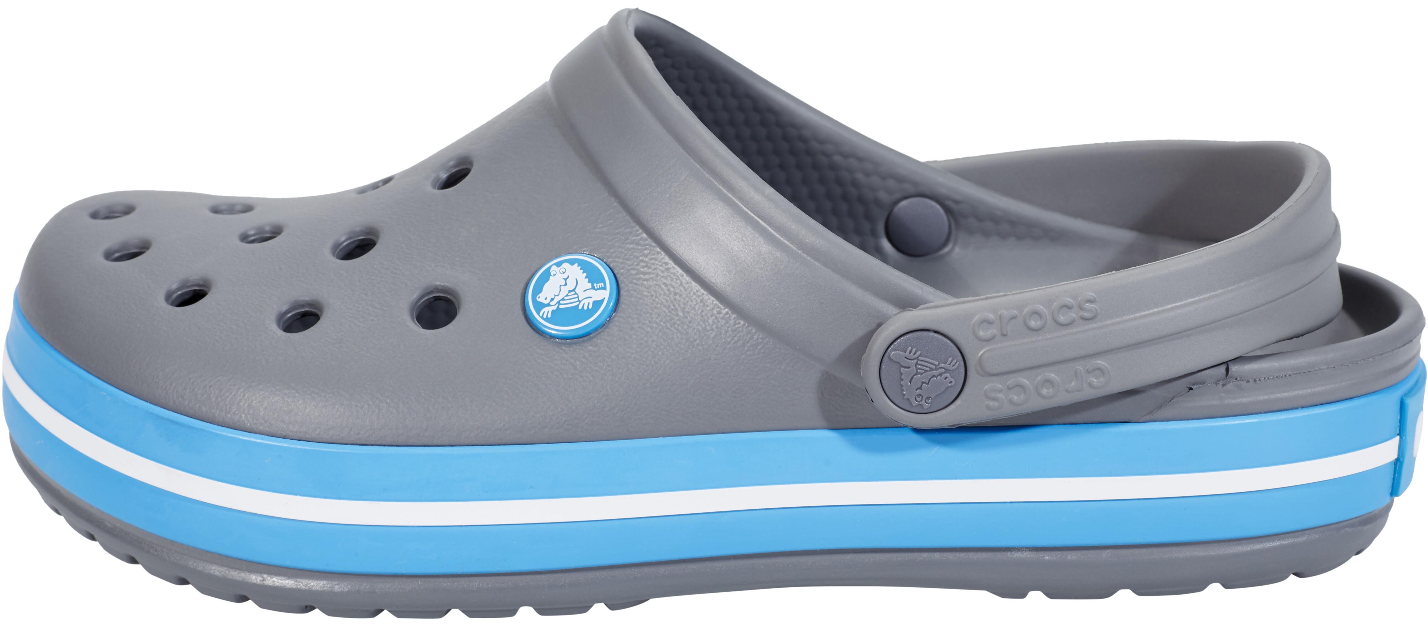 a5e08da8 Crocs Crocband Sandaler, charcoal/ocean | Find outdoortøj, sko ...